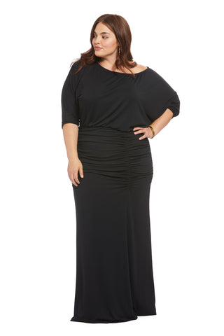 Sonia Dress - Black, Plus Size