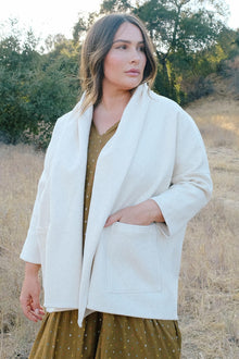 Canvas Phoenix Jacket - Plus Size