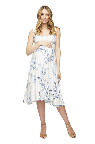 TANK DRESS PRINT - ECLIPSE MARIPOSA