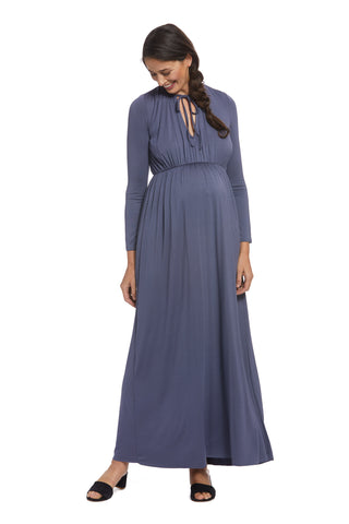 Tatum Dress - Slate, Maternity