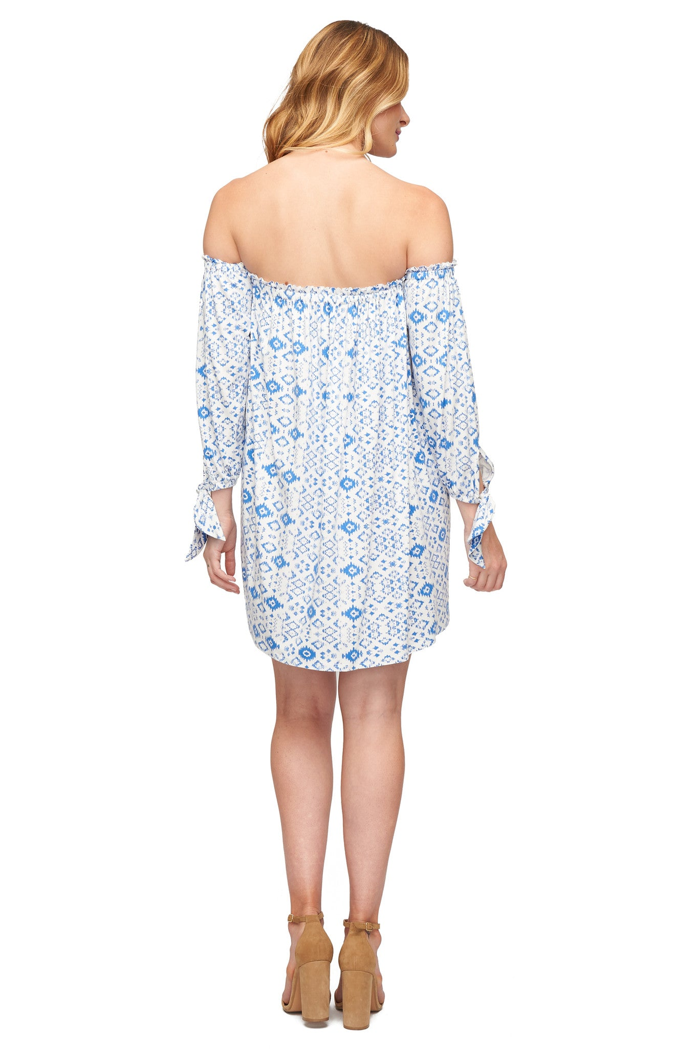 Trice Dress Print - Delta Medallion