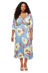 Tristan Dress - Bloom, Plus Size