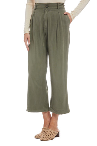 Twill James Pant - Olive