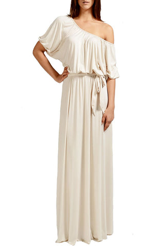 NOEMIE DRESS - CREAM