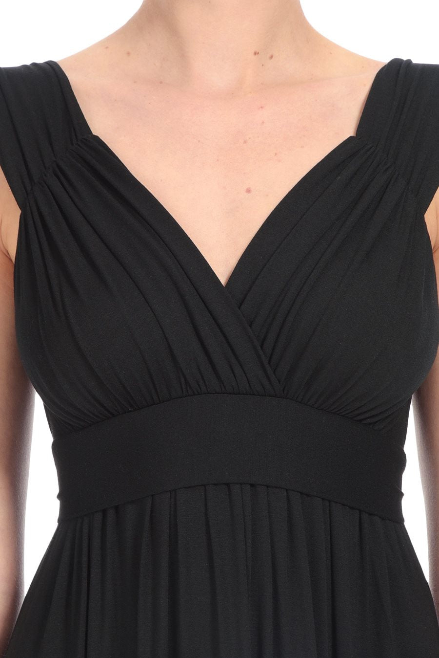 NEWPORT DRESS - BLACK