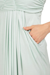 LONG FORTUNA DRESS - CLOUD