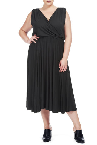 BERENSSYN DRESS WL - BLACK