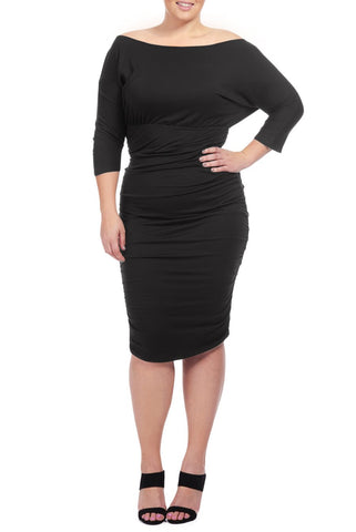 FARADAY DRESS WL - BLACK