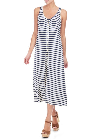 ROY DRESS PRINT - ATLANTIC STRIPE