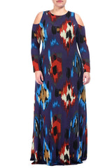 ROMIE DRESS WL PRINT - SUMATRA