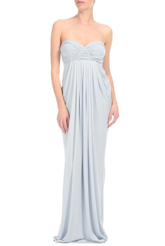 LONG FORTUNA DRESS - ICE