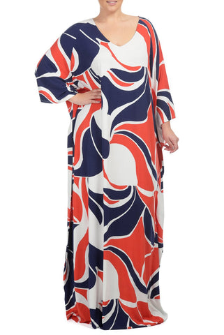 TILLIE DRESS WL PRINT - MOD