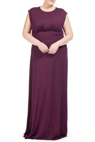BRENDALYN DRESS WL - CABERNET