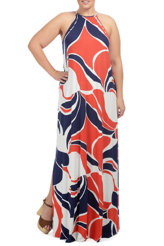 NORMAN DRESS WL PRINT - MOD