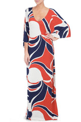 TILLIE DRESS PRINT - MOD