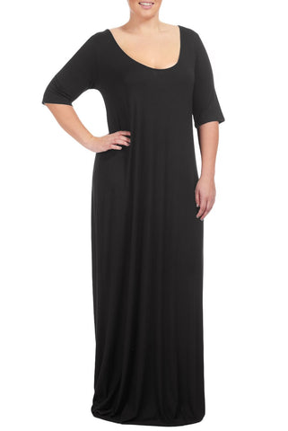 LANCE DRESS WL - BLACK