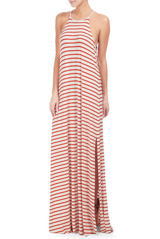 NORMAN DRESS PRINT - CALIENTE STRIPE
