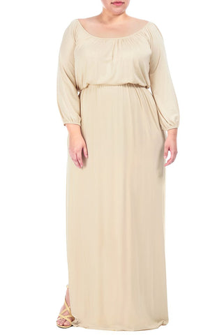 FREYA DRESS WL - CREAM
