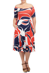 LOVELY DRESS WL PRINT - MOD