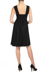 SHORT JO DRESS - BLACK