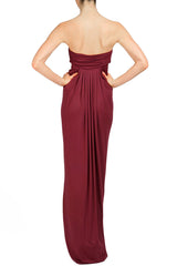 LONG FORTUNA DRESS - PINOT