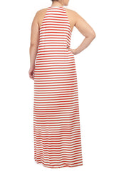 NORMAN DRESS WL PRINT - CALIENTE STRIPE
