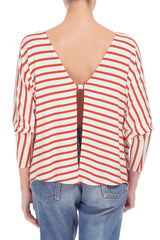 TIM TOP PRINT - CALIENTE STRIPE