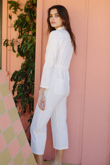 Winter Linen Canvas Dylan Jumpsuit