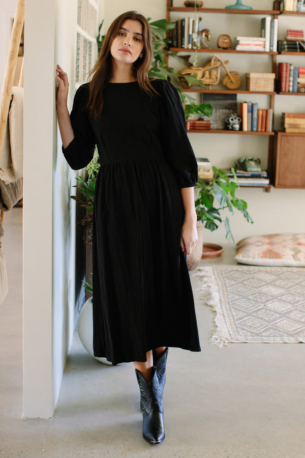 Winter Linen Roma Dress
