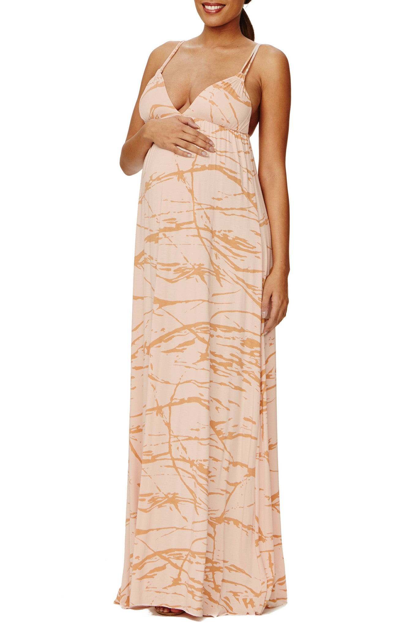 Wilde Dress Print - Champagne Reverie