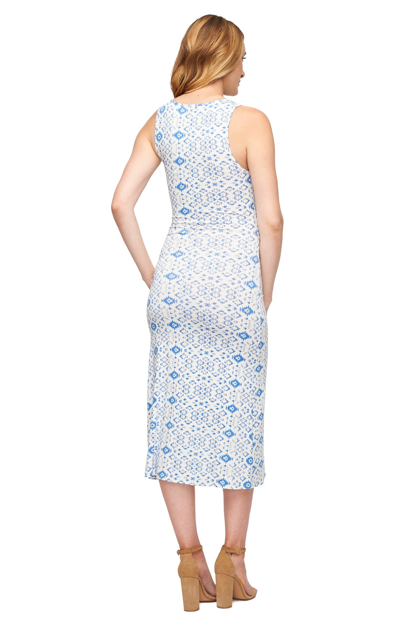 Yahaira Dress Print - Delta Medallion