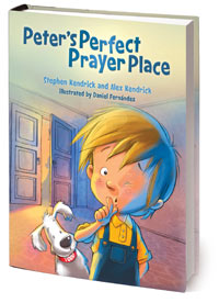 Peter's Perfect Prayer Place, book