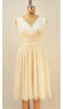 Fabi Ivory Chiffon Dream Dress - Plus Fashion Up to Size 32