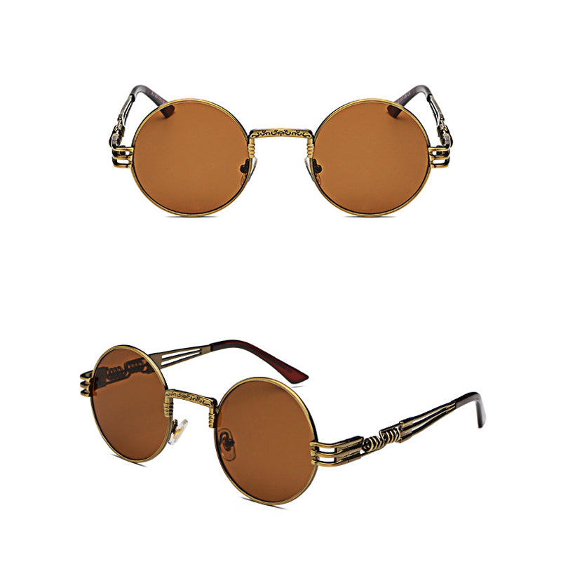 Round Retro 90's Sunglasses