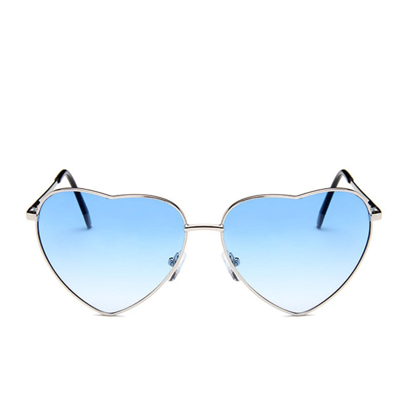 Retro Heart Sunglasses