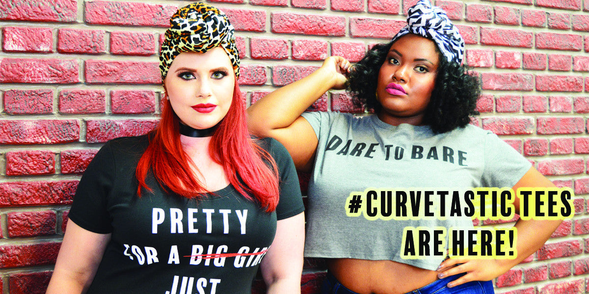 Make a statement. Join the movement. Body Positivity Tee