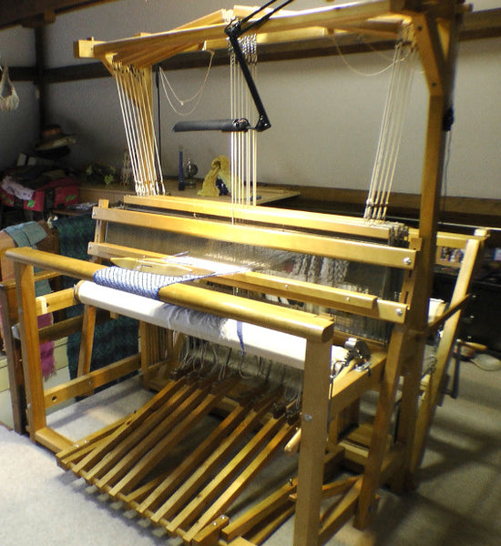Leclerc Colonial 10 shaft 150cm weaving loom