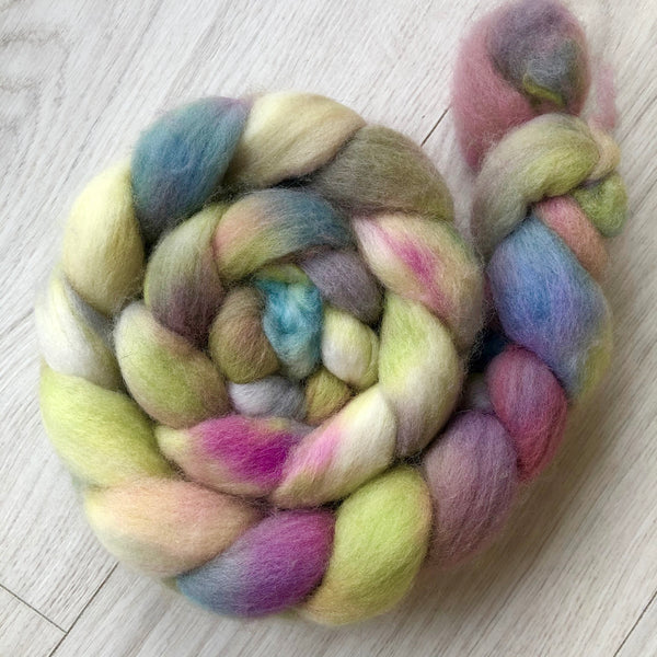 Hand Dyed Polwarth