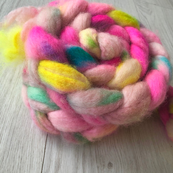 Hand Dyed BFL/Mohair