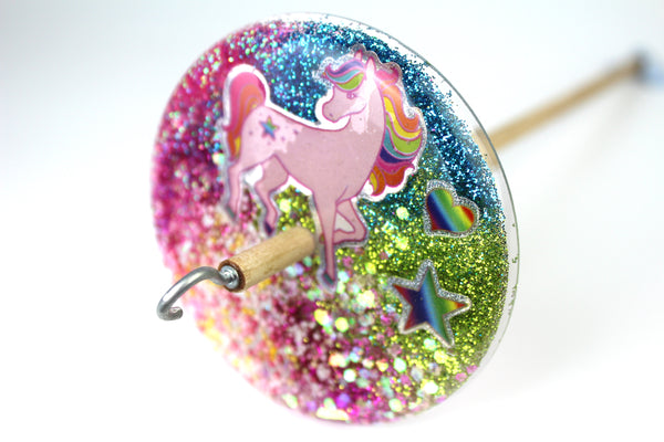 Unicorn Drop Spindle #577