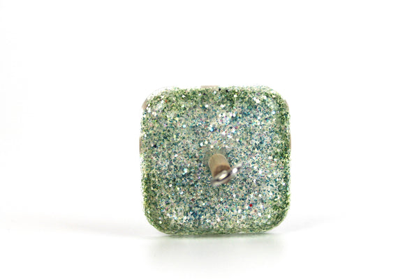 Glittery Square Drop Spindle #339