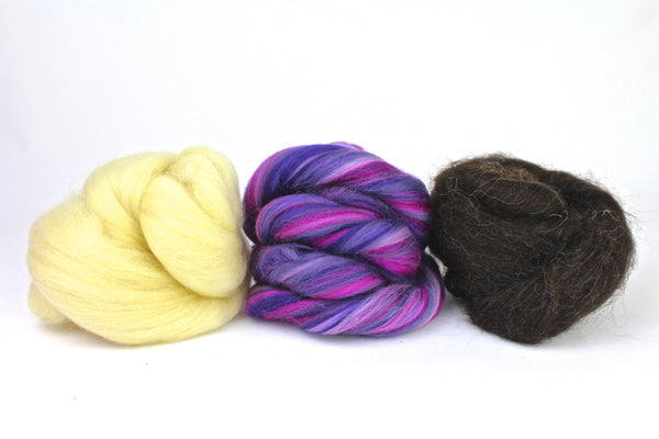 wool tops for spinning