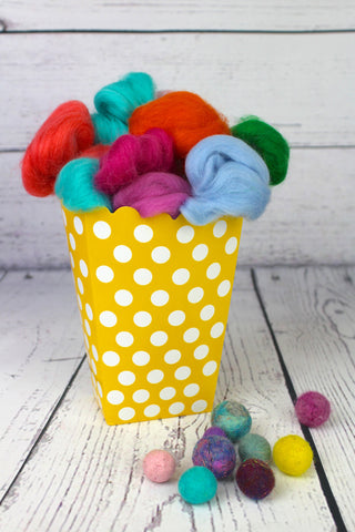 Felt Bead Kit - Beginners Felting Kit