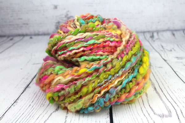 Popping Candy Handspun yarn