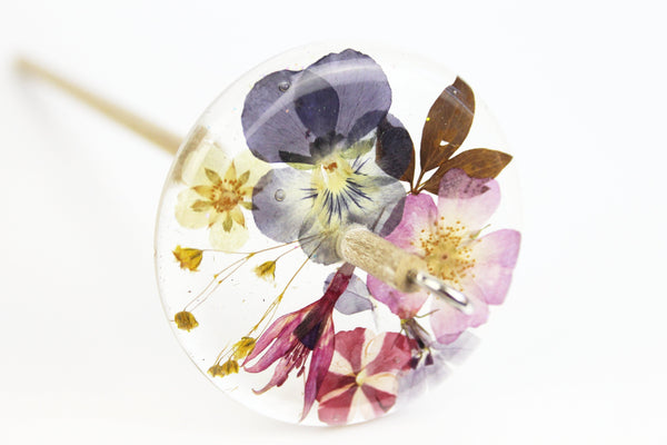 Floral Drop Spindle #469