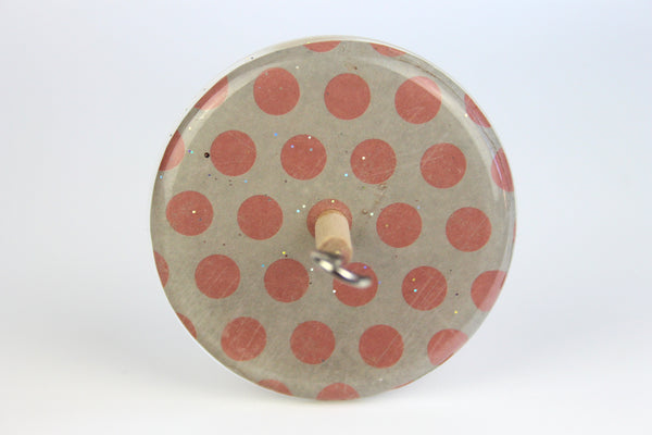 Polkadot Drop Spindle #442