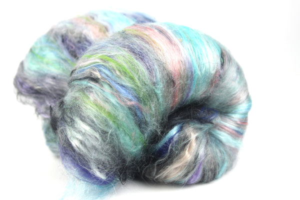 Naiad -Hand Carded Batt For Spinning Or Felting