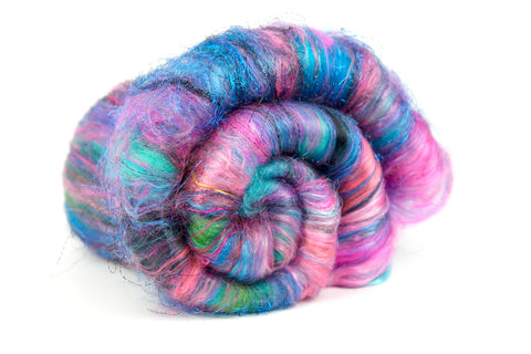 Frida - Hand Carded Batt For Spinning Or Felting