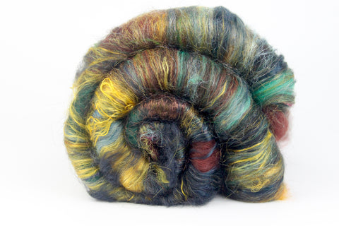 Dryad  - Hand Carded Batt For Spinning Or Felting