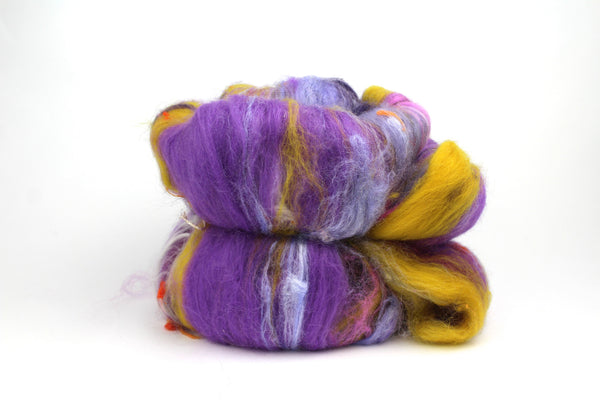 Crocus Hand Carded Art Batt